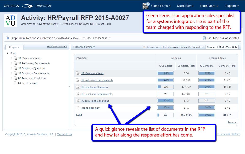 RFP Summary for Vendors