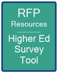 Higher Ed Survey Tool RFP Resources